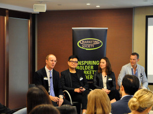 Marketing Society hosts 'Uncomfortable Breakfast' in Hong Kong