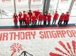 PHOTOS: Betty Crocker & PR firm build giant cupcake mosaic for SG50