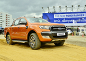 Photos: Ford's Ranger demo in Thailand