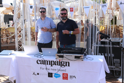 Photos: Campaign VIP beach party in Cannes