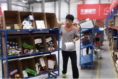 中国快消品电商市场碎片化,阿里巴巴垄断优势削弱