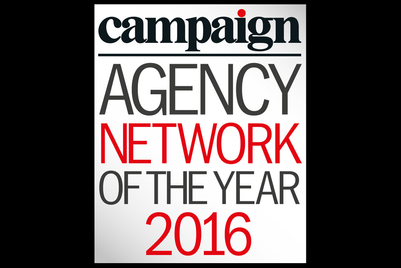 Agency Network of the Year 2016 winners