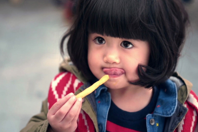 McDonald's shows CNY through the eyes of children