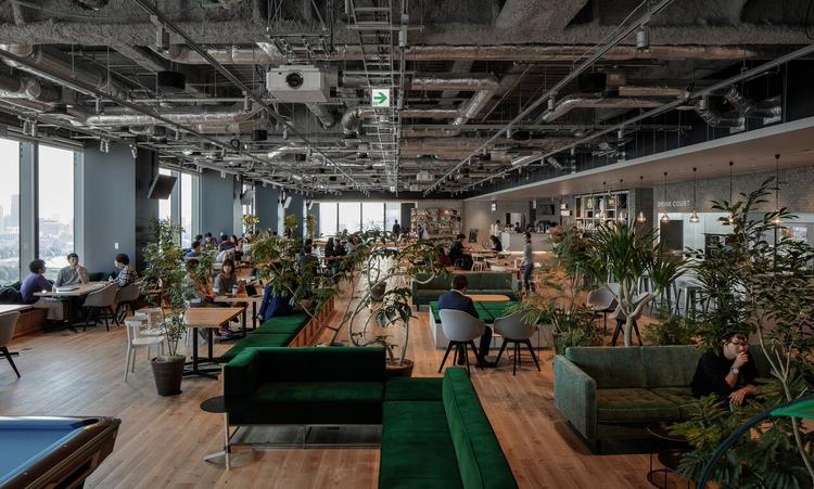 Line's new Tokyo headquarters