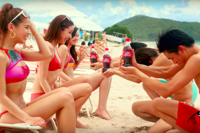 Coke's Japan summer campaign is refreshingly simple