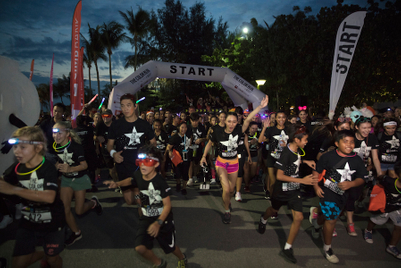 Photos: CIMB Bank sponsors first Color Run Night in Singapore