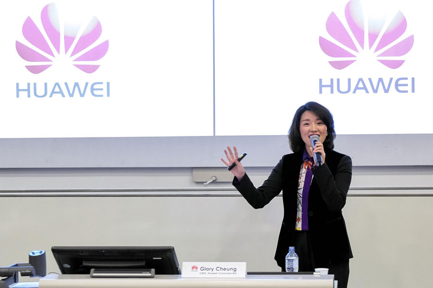 Huawei consumer business group CMO Glory Cheung