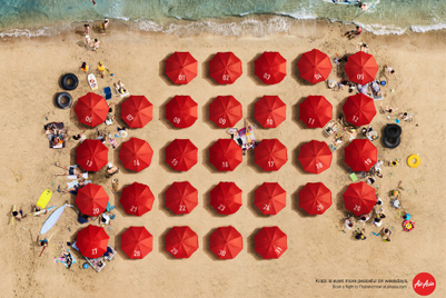 Thai AirAsia reprises calendar-inspired 'Weekdays' campaign