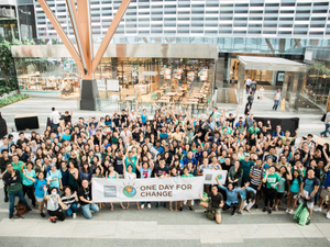 Photos: Dentsu Aegis Network's annual day for change