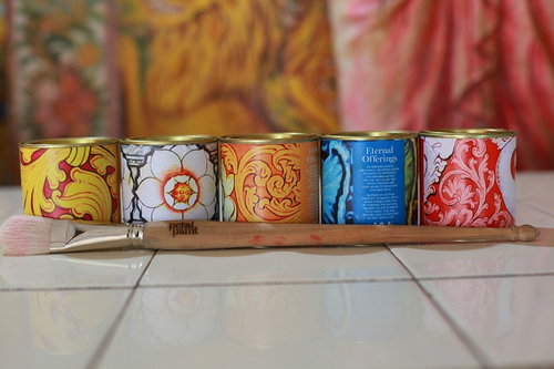 Sri Lanka paint company to make hues from discarded temple flowers