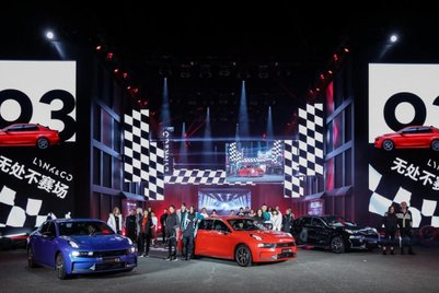 Photos: Lynk & Co creates 'immersive' race experience in Japan