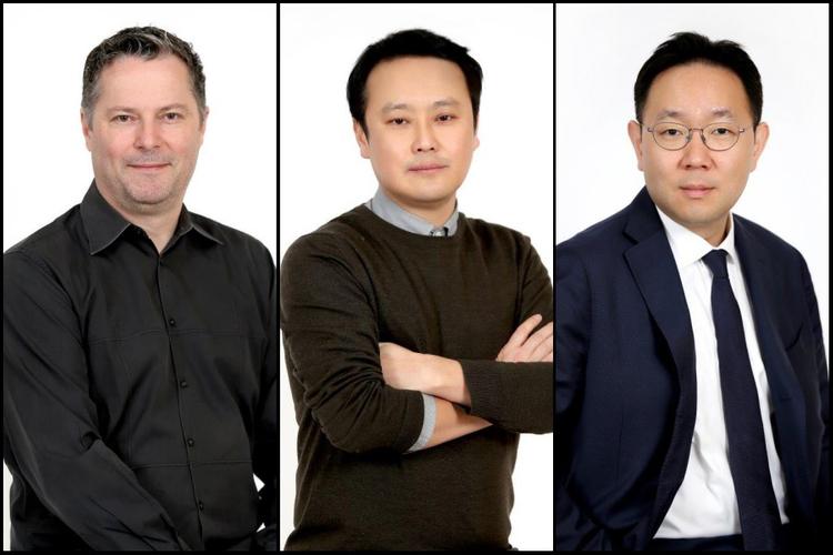 L-R:  Campbell Hanley, Juny Lee, Seikyu Hong Weber Shandwick