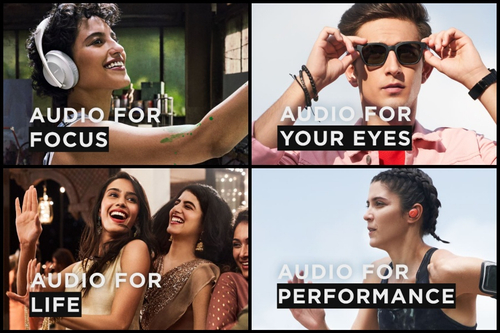 Bose campaign tries to show great sound