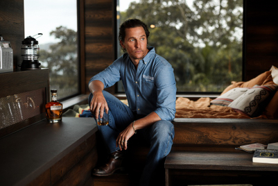 Matthew McConaughey designs cabin in Aussie wilderness for Wild Turkey