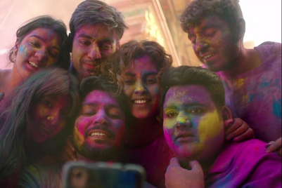 Facebook gets Romania to play Holi