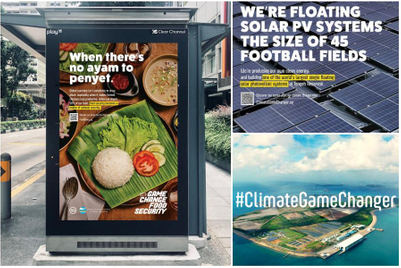 Singapore campaign aims to defeat climate defeatism