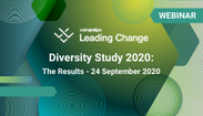 Webinar: Diversity Study 2020 – The results