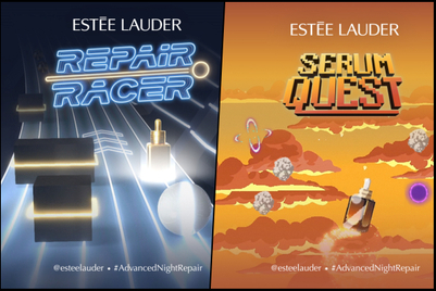 Estée Lauder uses online arcade to drive awareness of new beauty product