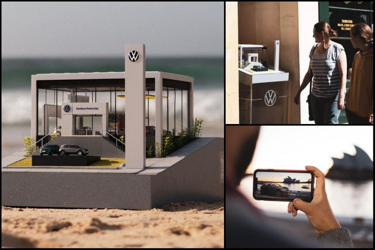 VW creates tiny dealership to promote small SUV range