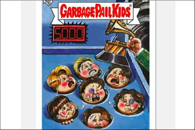 Garbage Pail Kids pulls 'BTS Bruisers' card amid surge in hate crimes against Asians