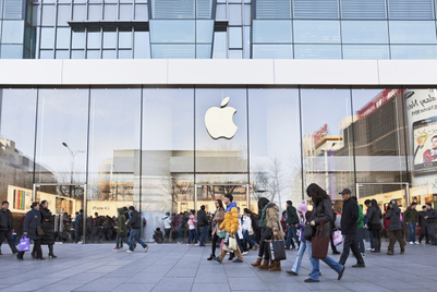 Apple sets record quarter thanks to China's 5G appetite