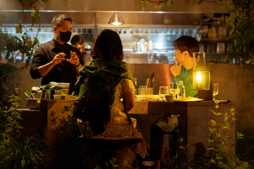 Just Egg invites Koreans to an intimate dinner for two