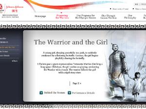 Johnson & Johnson unveils Olympics web campaign