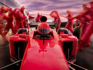 Grand Prix sponsors leap into action