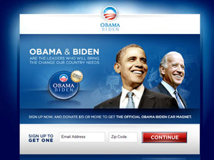 Opinion... The White House battleground has shifted online