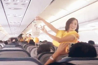 Cebu Pacific safety demo dance goes viral, attracts 7 million viewers