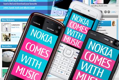 Nokia steps up music download war
