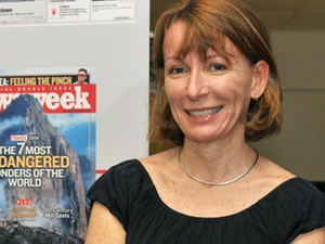 Profile... Murphy out to raise Newsweek's global game