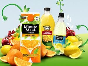 Coca-Cola's juice brands in revamp