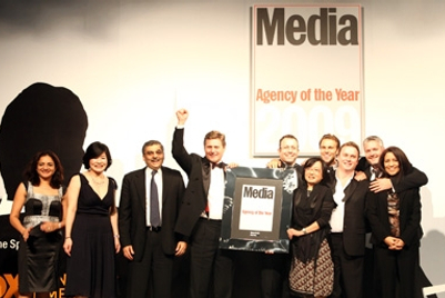 Carat/Isobar, BBH and PHD celebrate wins at 2009 Agency of the Year Awards