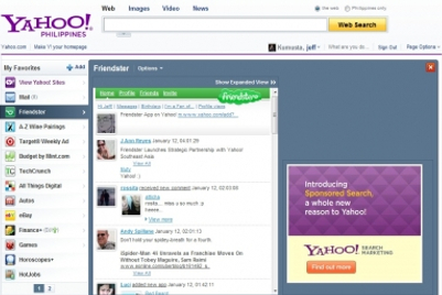 Friendster and Yahoo SEA ink multi-year parternship