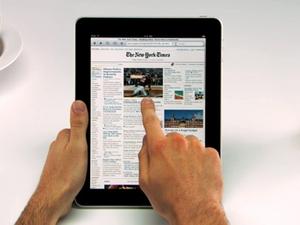 Apple unveils the iPad