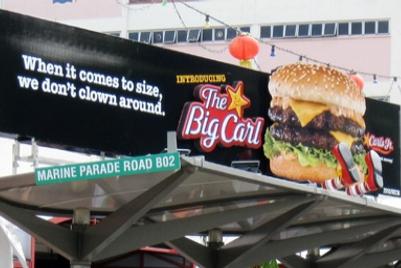 Carl's Jr | The Big Carl | Singapore