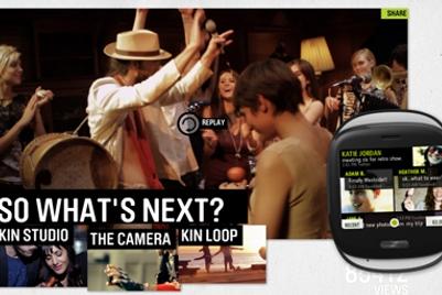 Razorfish revealed as digital AOR for Microsoft's Kin smartphone