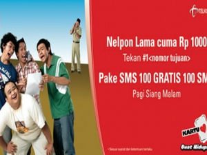 Telkomsel surprises Indonesian industry by calling a creative pitch