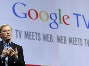 Search giant targets television industry with Google TV