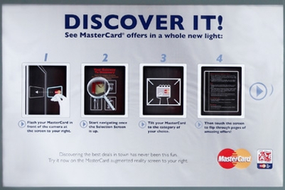 MasterCard | Augmented reality outdoor campaign | Singapore