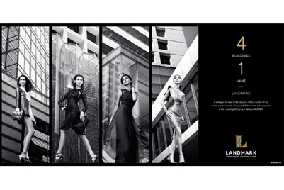 Landmark seeks to calibrate shoppers to 4-in-1 luxury retail proposition