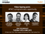 Video tipping point: Programmatic webinar highlights