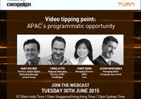 Video tipping point: Programmatic webinar highlights