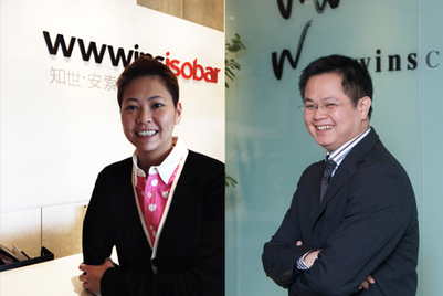 Isobar touts digital convergence by promoting Cherry Tang, Alvin Huang