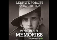 Woolworths tries to be a part of culture, Anzacs and Australians fire back