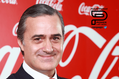 Asia-Pacific Power List 2020: Manuel Arroyo, Coca Cola