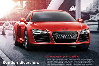 Audi quattro takes on 'challenges' of driving in Singapore