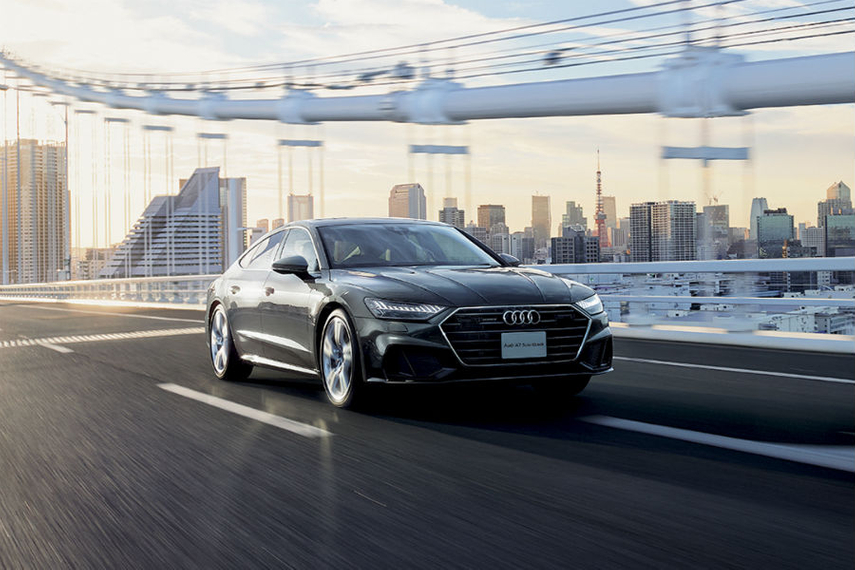A new campaign for Japan is nice and all, but we can't help but long for the days when Audi really challenged conventions.