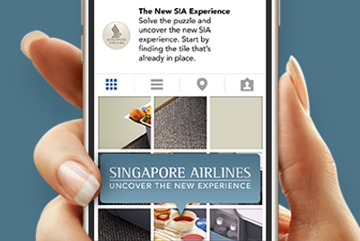 Singapore Airlines gets playful on Instagram for new product launch